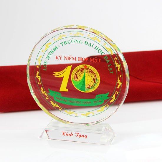 Kỷ niệm chương Pha lê - Đĩa mặt trời