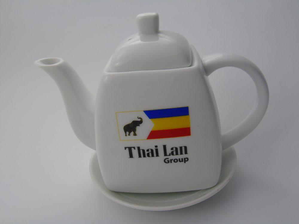 Bộ ấm chén Bát Tràng cao cấp - Thái Lan Paint