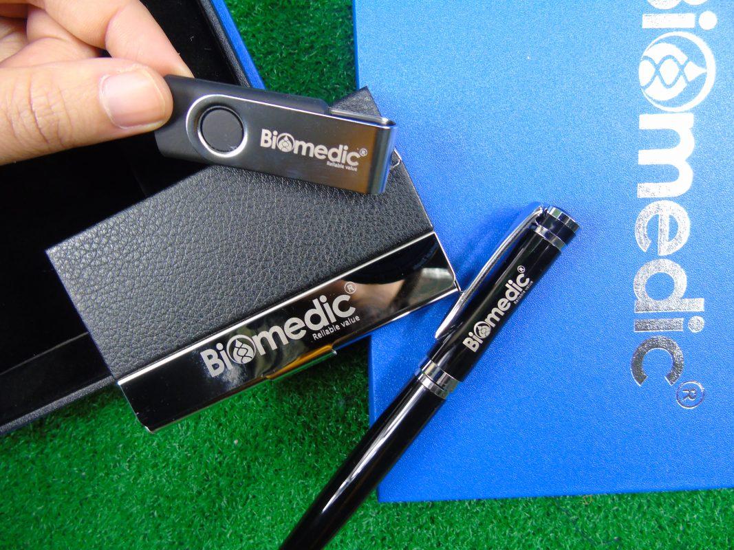 Bộ quà tặng Giftset Bút ký USB Namecard - Biomedic