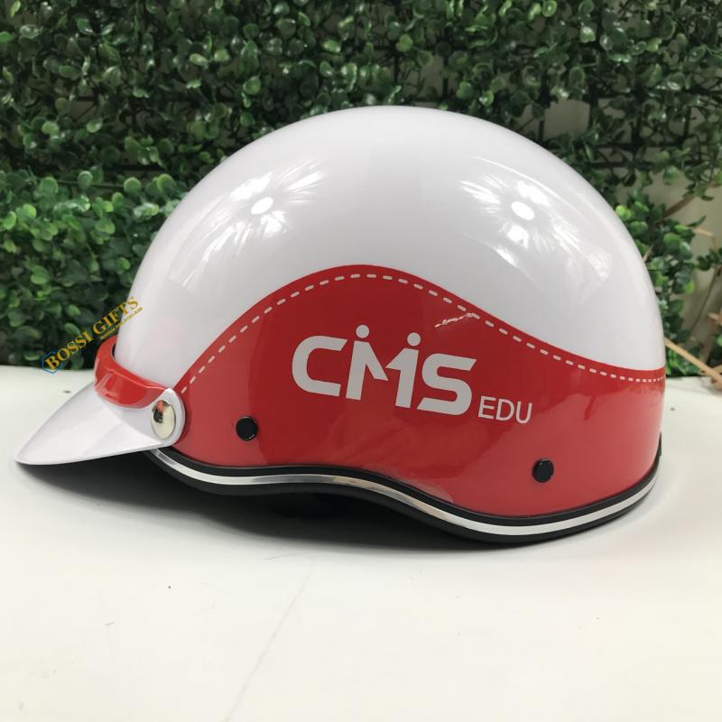 Mũ bảo hiểm in logo CMS