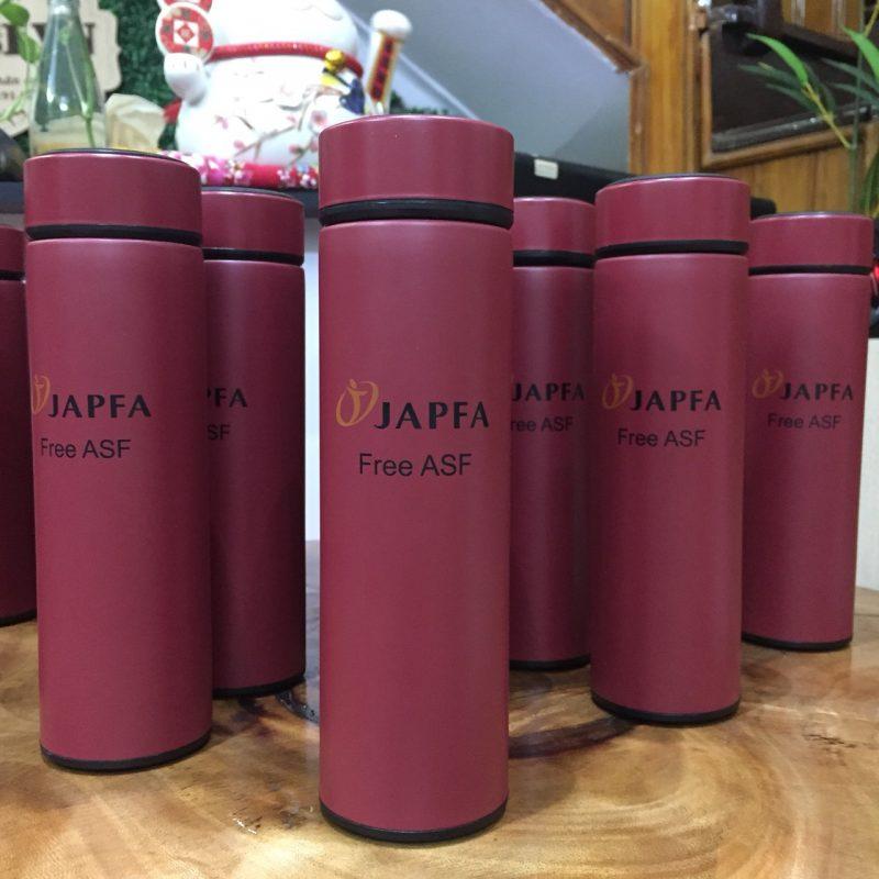 Bình Giữ Nhiệt (500ml) quà tặng - In Logo JAPFA