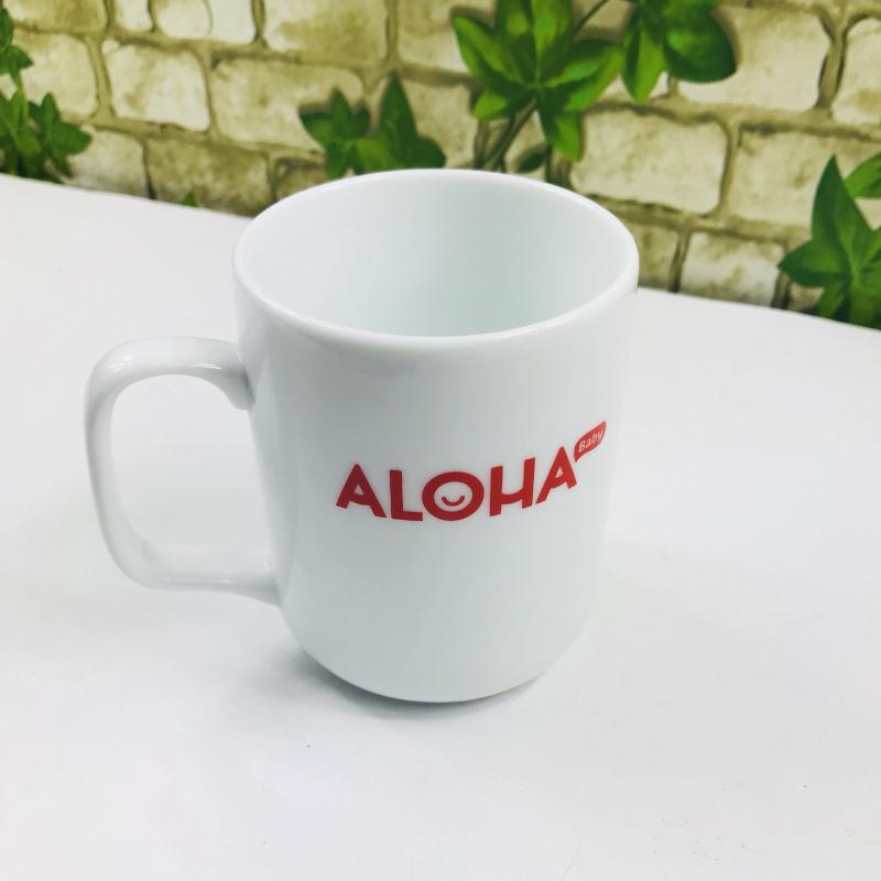 Cốc sứ - Quà tặng in logo ALOHA Baby