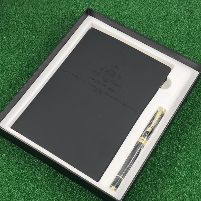 Bộ Giftset Sổ Bút - Món quà sang trọng, chuyên nghiệp của Phú Mỹ Hưng