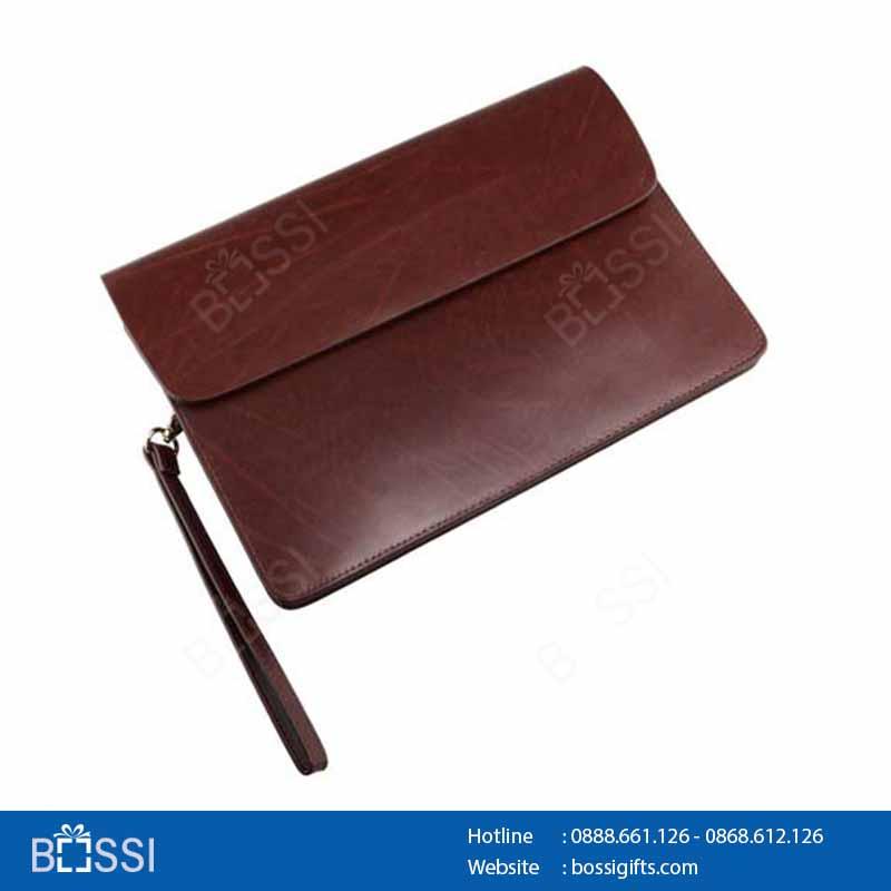 Túi Clutch đựng ipad mini V063 KT235x140x75mm