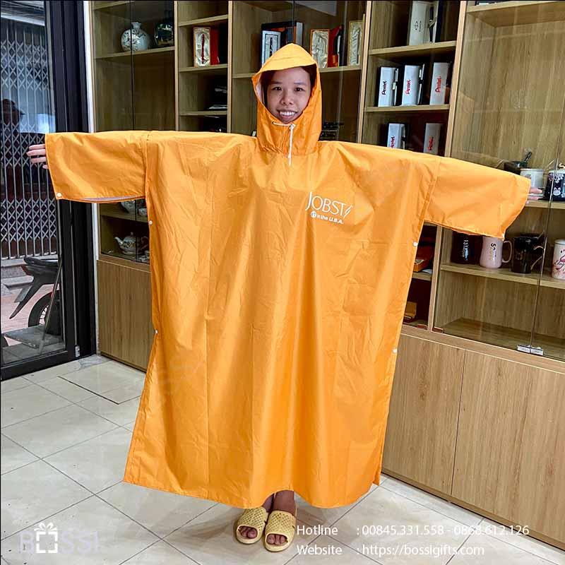 Áo mưa vải dù vân tổ ong in logo Vớ Y Khoa